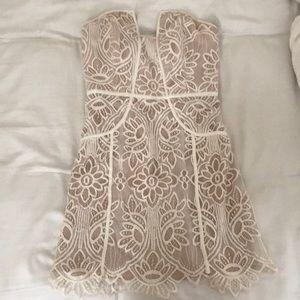 Lovers+friends lace dress